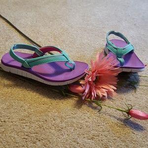 Toddler Girls Champion flip flops size 9/10